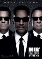 Men in Black 3 - Malaysian Movie Poster (xs thumbnail)