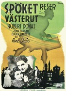 The Ghost Goes West - Swedish Movie Poster (xs thumbnail)