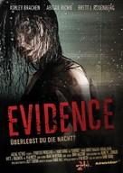 Evidence - German Movie Poster (xs thumbnail)