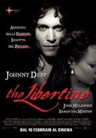 The Libertine - Italian Movie Poster (xs thumbnail)