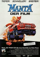 Manta - Der Film - German Movie Poster (xs thumbnail)