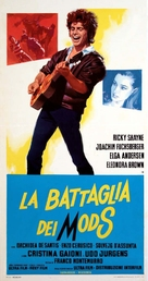 Battaglia dei mods, La - Italian Movie Poster (xs thumbnail)