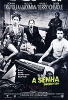 Swordfish - Brazilian Movie Poster (xs thumbnail)