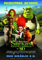 Shrek Forever After - Lithuanian Movie Poster (xs thumbnail)