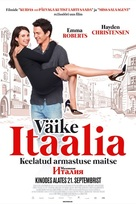 Little Italy - Estonian Movie Poster (xs thumbnail)