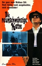 Il gatto a nove code - German Movie Poster (xs thumbnail)