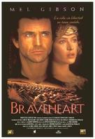 Braveheart - Spanish Movie Poster (xs thumbnail)