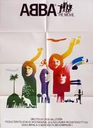 ABBA: The Movie - Danish Movie Poster (xs thumbnail)