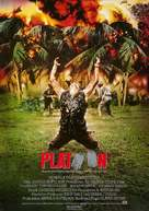 Platoon - German Movie Poster (xs thumbnail)