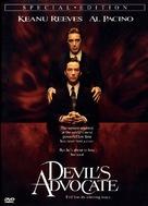 The Devil's Advocate - DVD cover (xs thumbnail)