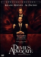 The Devil's Advocate - DVD movie cover (xs thumbnail)