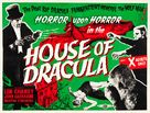 House of Dracula - British Movie Poster (xs thumbnail)