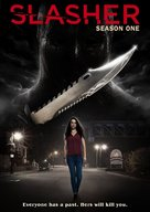 """Slasher"" - DVD movie cover (xs thumbnail)"