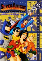 """The All-New Super Friends Hour"" - Brazilian DVD cover (xs thumbnail)"