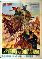 Strada per Fort Alamo, La - Italian Movie Poster (xs thumbnail)