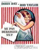 Do Not Disturb - French Movie Poster (xs thumbnail)
