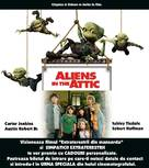 Aliens in the Attic - Romanian Movie Poster (xs thumbnail)