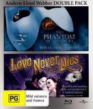 Love Never Dies - Australian Blu-Ray cover (xs thumbnail)