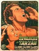 Tarzan's Revenge - French Movie Poster (xs thumbnail)