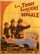 The Lives of a Bengal Lancer - Italian Movie Poster (xs thumbnail)