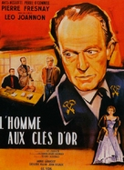 L'homme aux clefs d'or - French Movie Poster (xs thumbnail)