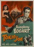 Tokyo Joe - Danish Movie Poster (xs thumbnail)