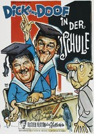 A Chump at Oxford - German Theatrical poster (xs thumbnail)
