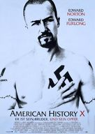 American History X - German Movie Poster (xs thumbnail)