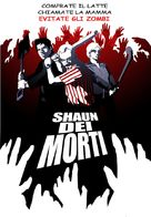 Shaun of the Dead - Italian DVD cover (xs thumbnail)