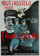 Bud Abbott Lou Costello Meet Frankenstein - Yugoslav Movie Poster (xs thumbnail)