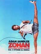 You Don't Mess with the Zohan - Italian Movie Poster (xs thumbnail)