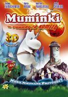 Muumi ja punainen pyrstötähti - Polish DVD cover (xs thumbnail)