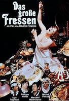 La grande bouffe - German DVD movie cover (xs thumbnail)