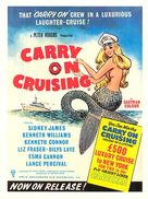 Carry On Cruising - British Movie Poster (xs thumbnail)