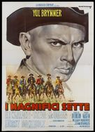 The Magnificent Seven - Italian Movie Poster (xs thumbnail)