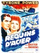 Crash Dive - French Movie Poster (xs thumbnail)