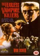 Dance of the Vampires - British Movie Cover (xs thumbnail)