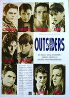 The Outsiders - Swedish Movie Poster (xs thumbnail)