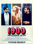 Novecento - Belgian Movie Poster (xs thumbnail)