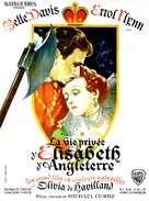 The Private Lives of Elizabeth and Essex - French Movie Poster (xs thumbnail)