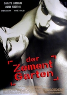 The Cement Garden - German Movie Poster (xs thumbnail)