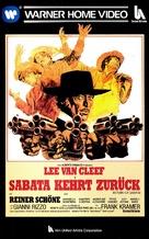 È tornato Sabata... hai chiuso un'altra volta - German VHS movie cover (xs thumbnail)