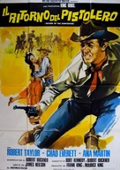 Return of the Gunfighter - Italian Movie Poster (xs thumbnail)