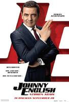 Johnny English Strikes Again - Singaporean Movie Poster (xs thumbnail)