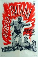 Back to Bataan - Argentinian Movie Poster (xs thumbnail)
