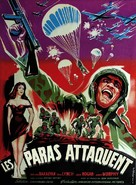 Paratroop Command - French Movie Poster (xs thumbnail)