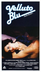 Blue Velvet - Italian Theatrical movie poster (xs thumbnail)