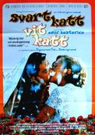 Crna macka, beli macor - Swedish Movie Poster (xs thumbnail)