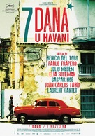 7 días en La Habana - Serbian Movie Poster (xs thumbnail)