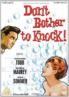 Don't Bother to Knock - British DVD movie cover (xs thumbnail)